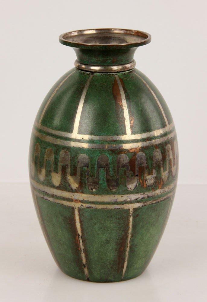 Christofle Copper Vase