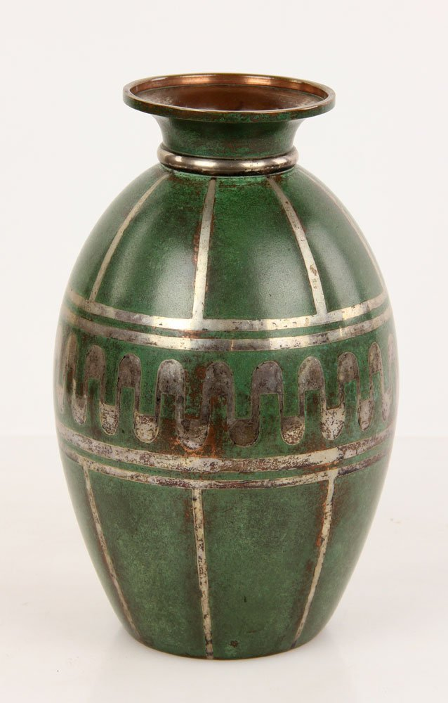 Christofle Copper Vase - 2