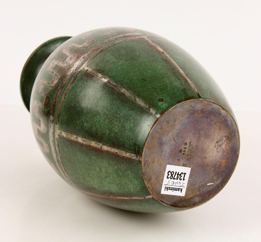 Christofle Copper Vase - 3