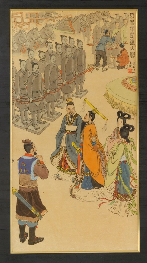 Two Chinese Imperial Watercolors - 3