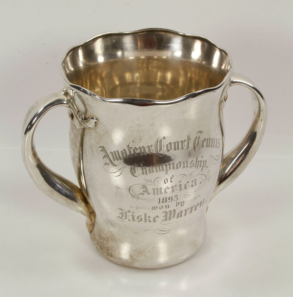 Warren Presentation Sterling Silver Tennis Trophy