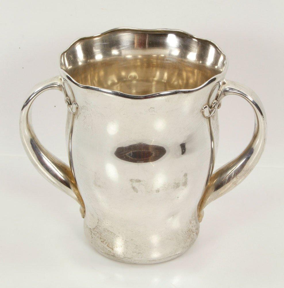 Warren Presentation Sterling Silver Tennis Trophy - 4