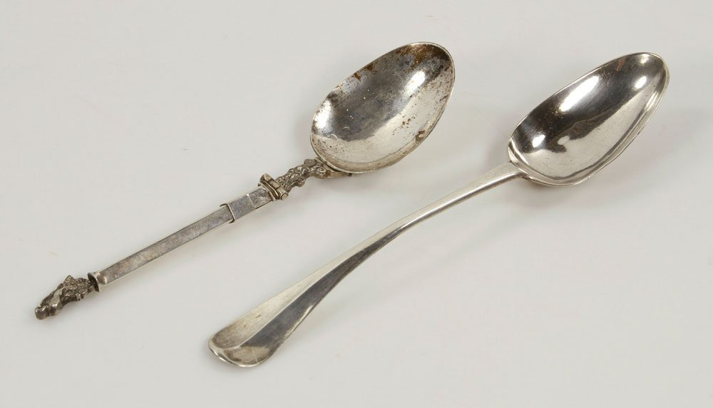 Two Early English Spoons - 2