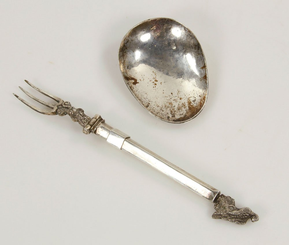 Two Early English Spoons - 3
