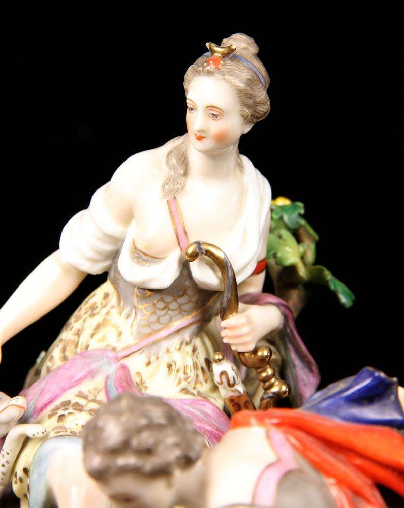 Large German Figural Porcelain Grouping - 4