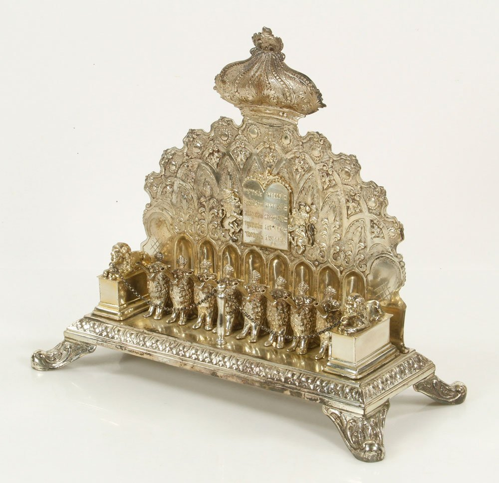 Continental Sterling Menorah
