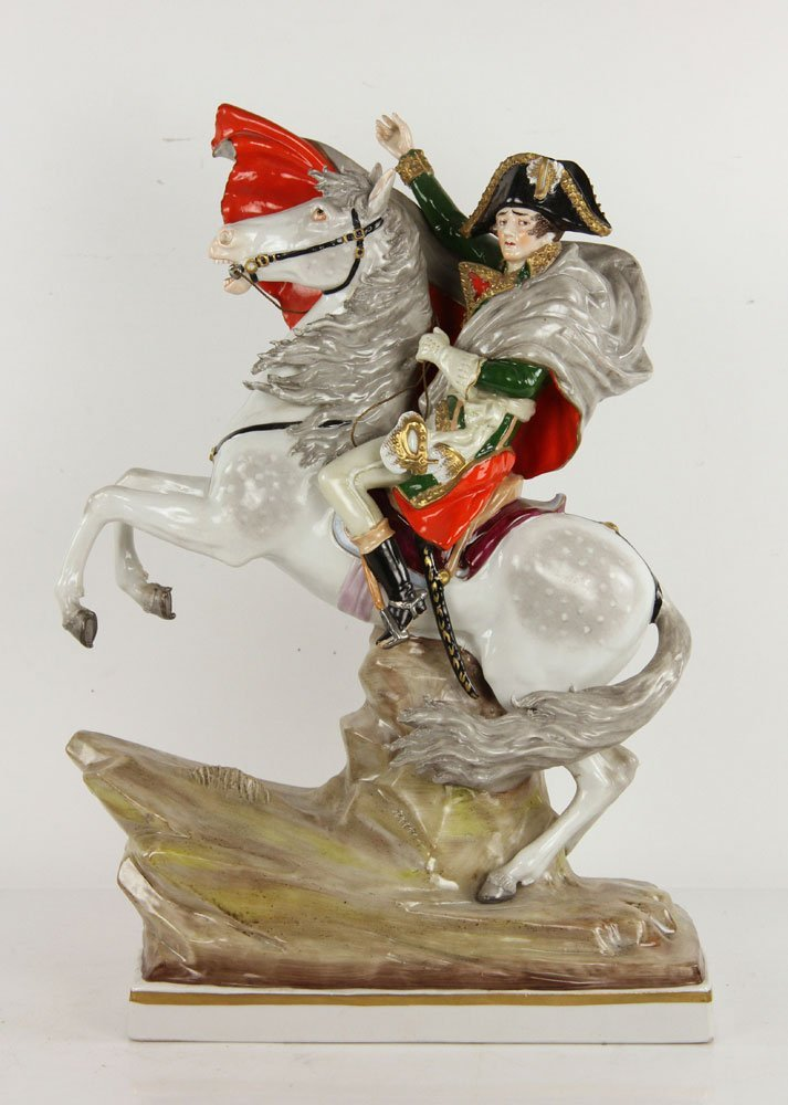 German Napoleon Figurine