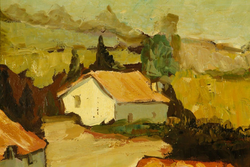 Boonzaier, South African Cottages, Oil on Canvas - 4
