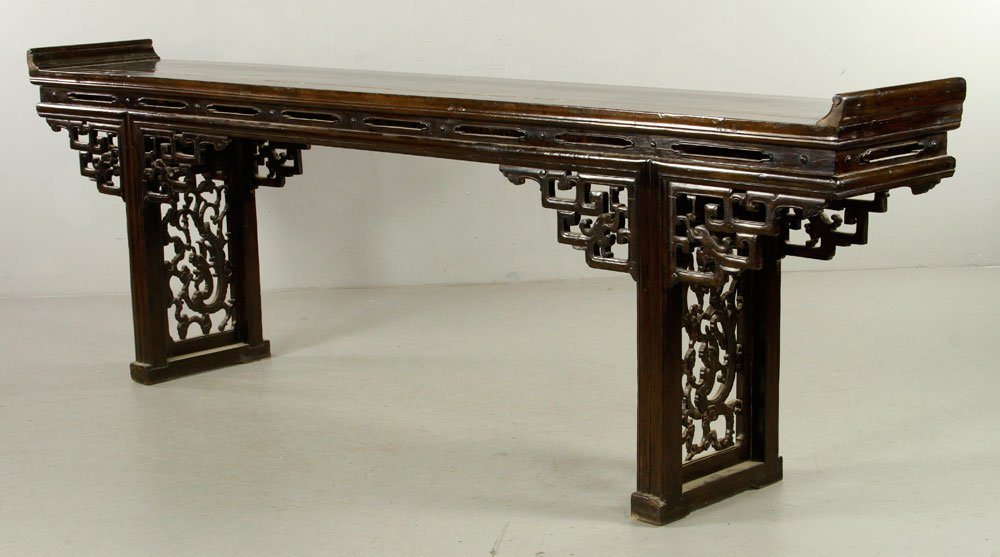Chinese Chai Wood Altar Table