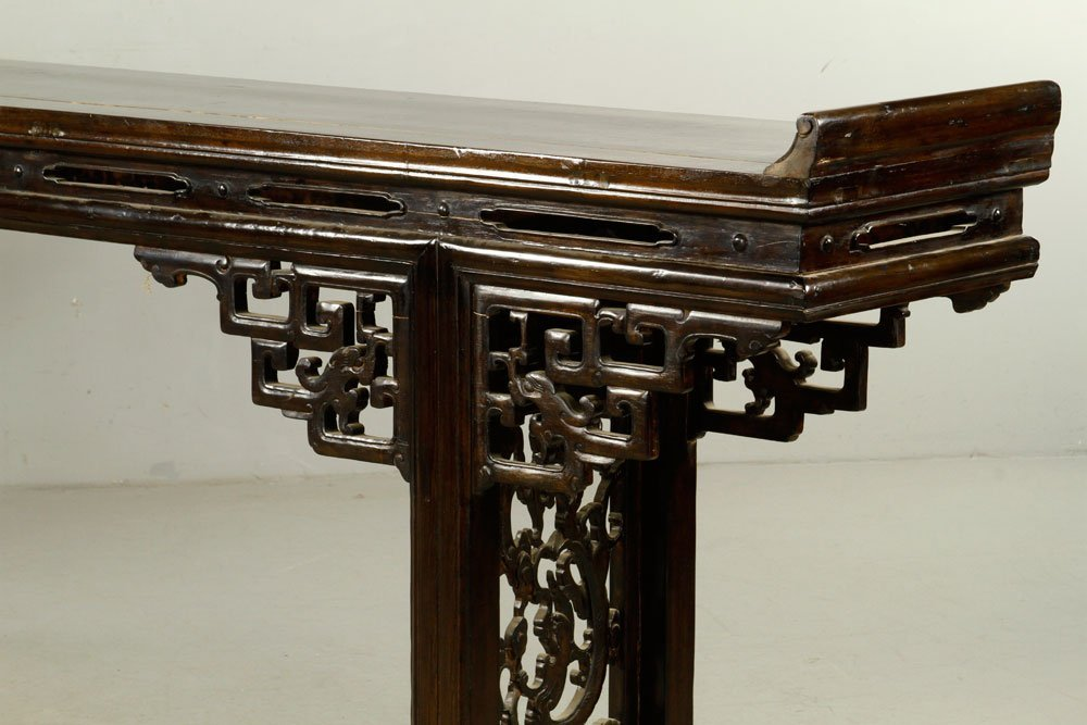 Chinese Chai Wood Altar Table - 2
