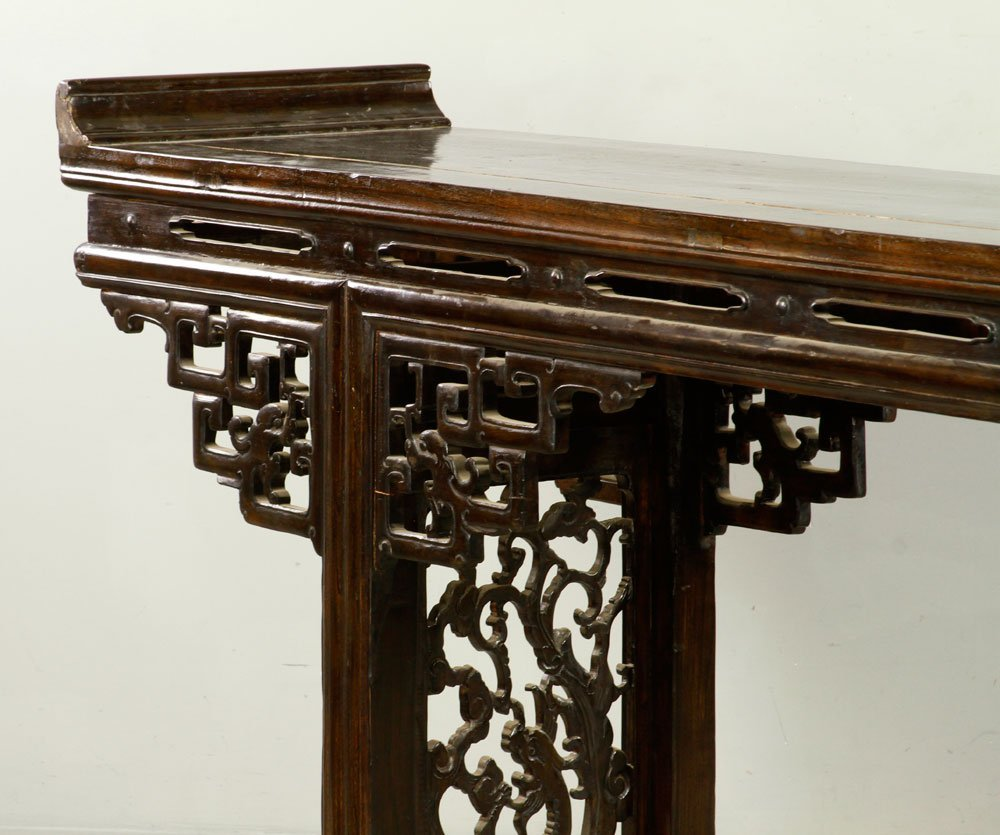 Chinese Chai Wood Altar Table - 3