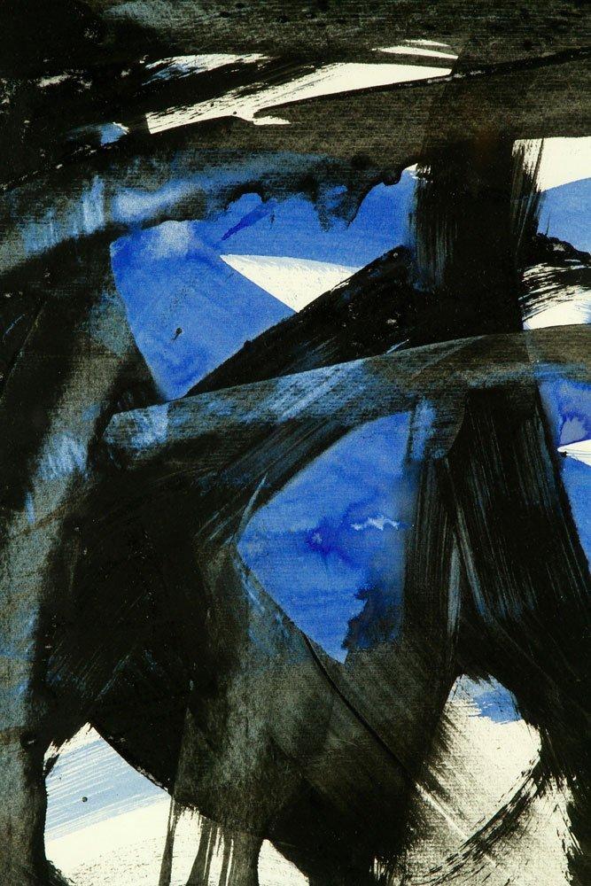 Attr. Kline, Abstract, Watercolor - 3