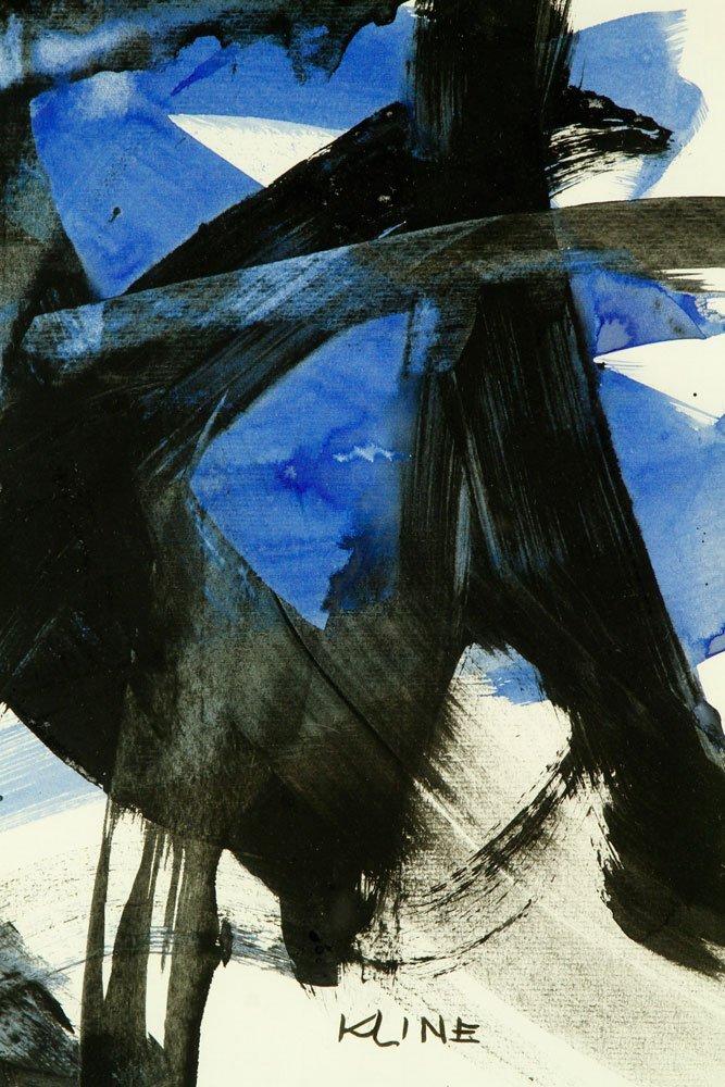 Attr. Kline, Abstract, Watercolor - 4