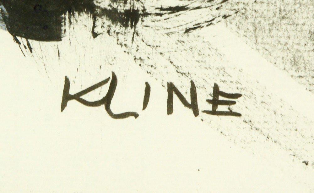 Attr. Kline, Abstract, Watercolor - 5