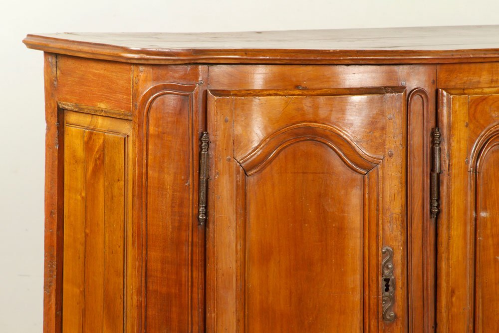 French Carved Fruitwood Sideboard - 2