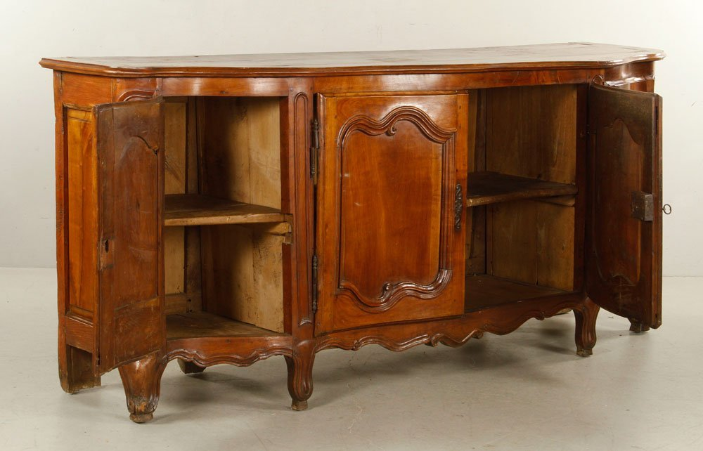 French Carved Fruitwood Sideboard - 3