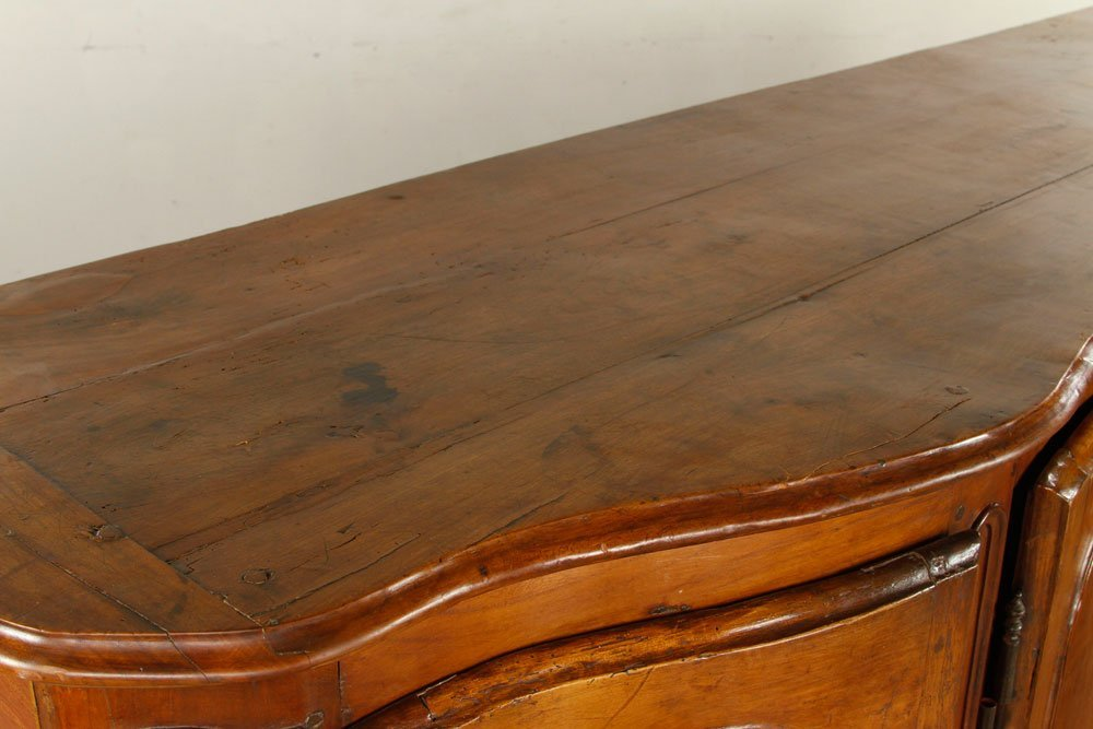 French Carved Fruitwood Sideboard - 5