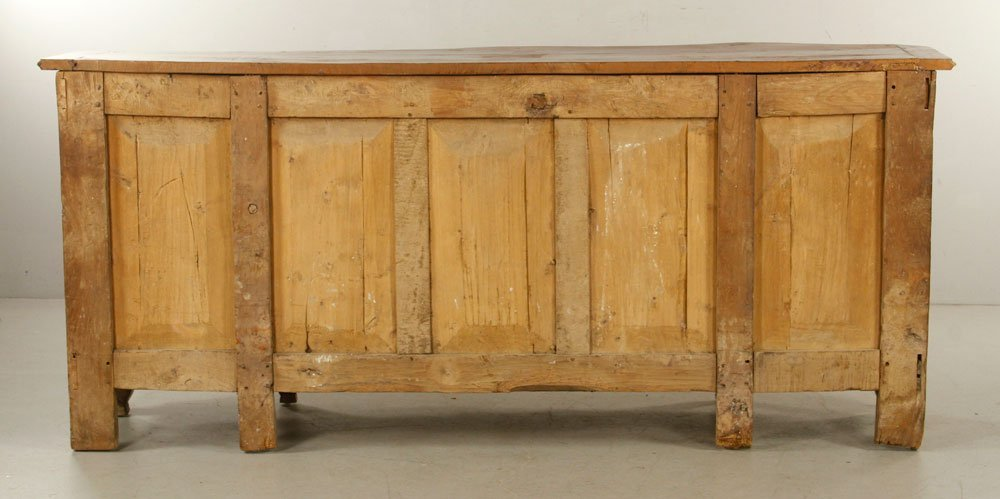 French Carved Fruitwood Sideboard - 6