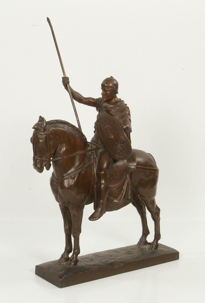 Fremiet, Cavalier Romain, Bronze
