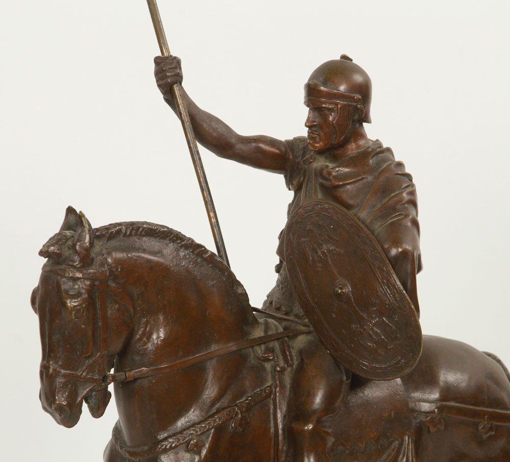 Fremiet, Cavalier Romain, Bronze - 2
