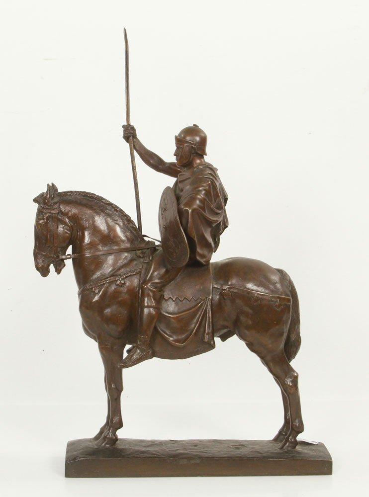 Fremiet, Cavalier Romain, Bronze - 3