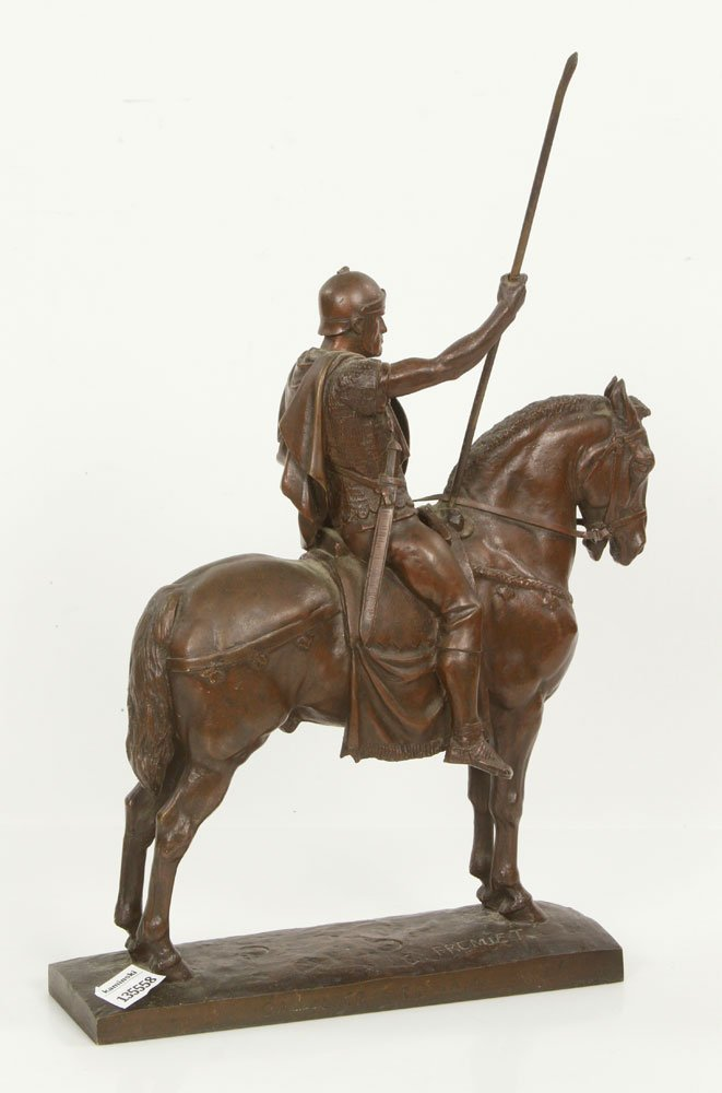 Fremiet, Cavalier Romain, Bronze - 4