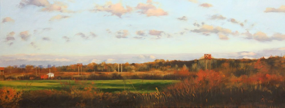 "Smith, ""Landing Lights,"" Oil on Canvas - 2"