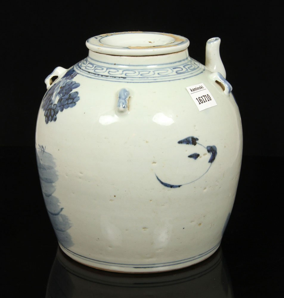 Chinese Blue and White Teapot - 2