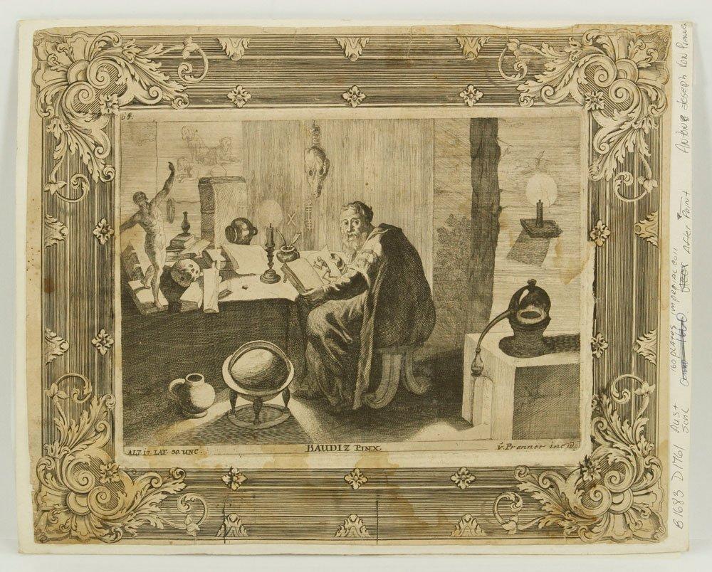 18th C. von Prenner Print