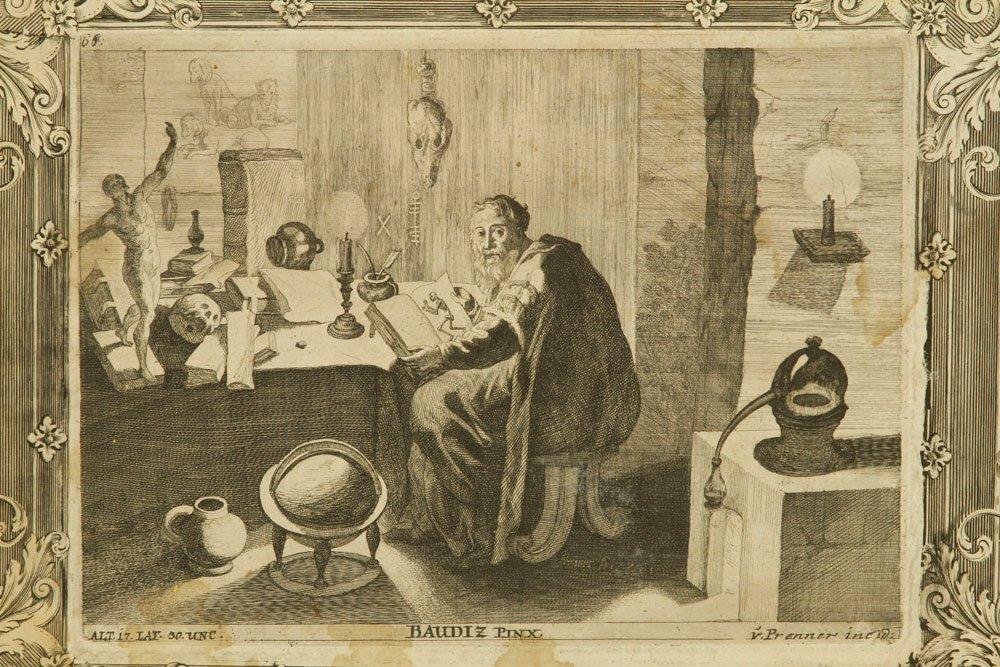 18th C. von Prenner Print - 2