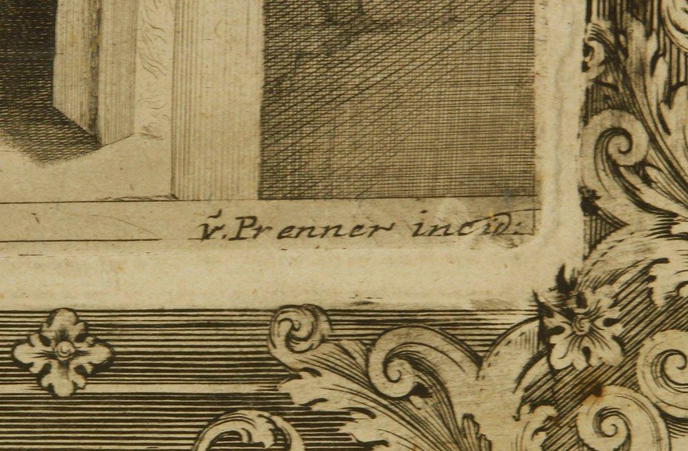 18th C. von Prenner Print - 3