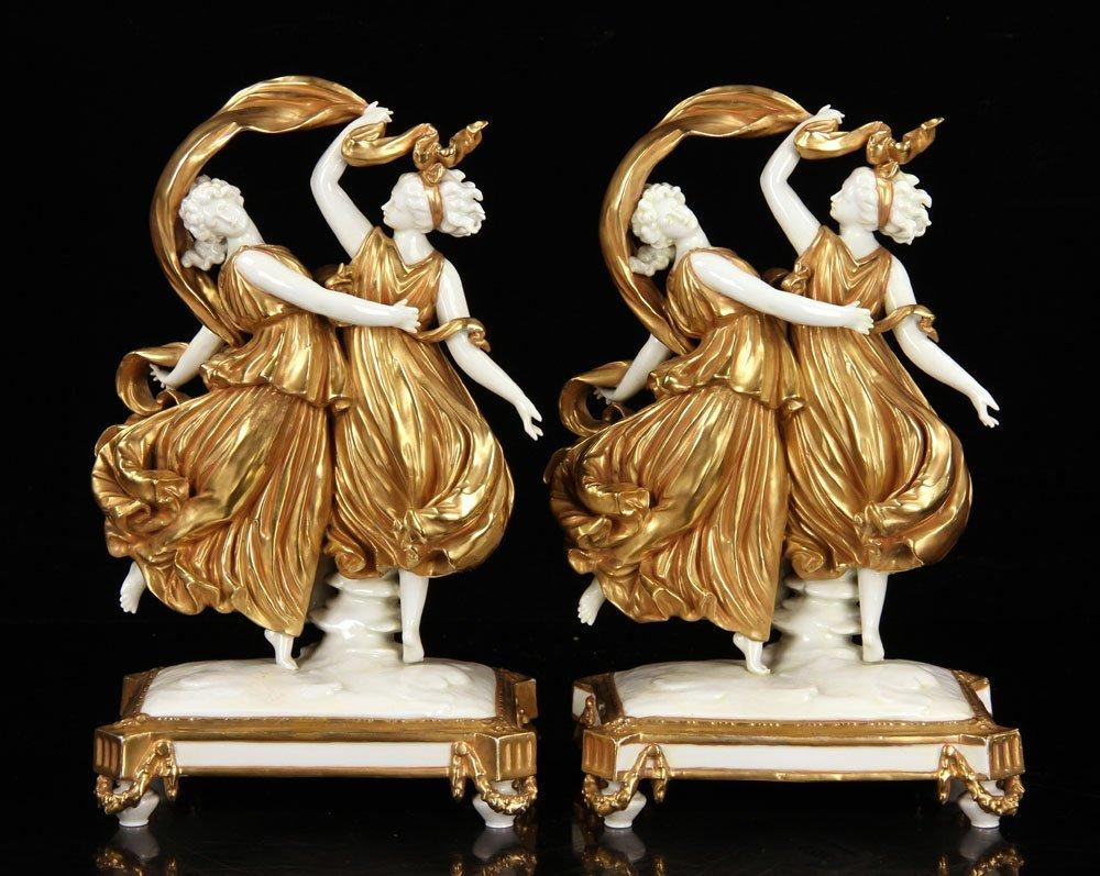 Pr. Capodimonte Figural Statuettes
