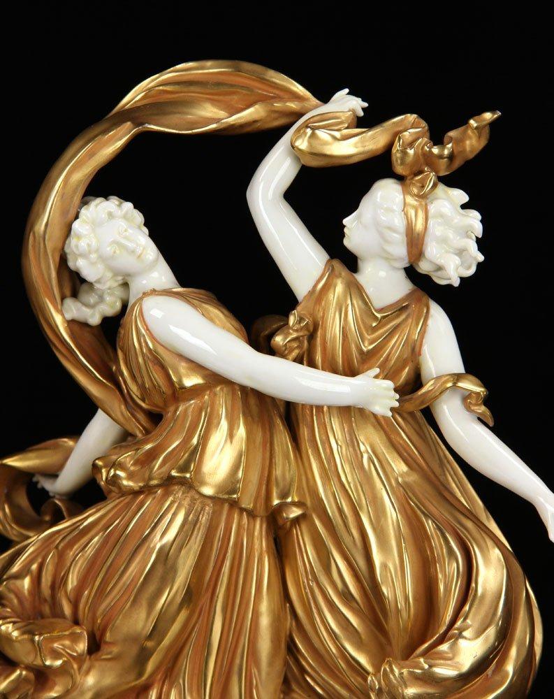 Pr. Capodimonte Figural Statuettes - 2