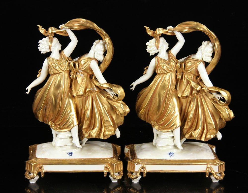 Pr. Capodimonte Figural Statuettes - 3