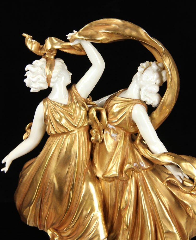 Pr. Capodimonte Figural Statuettes - 4