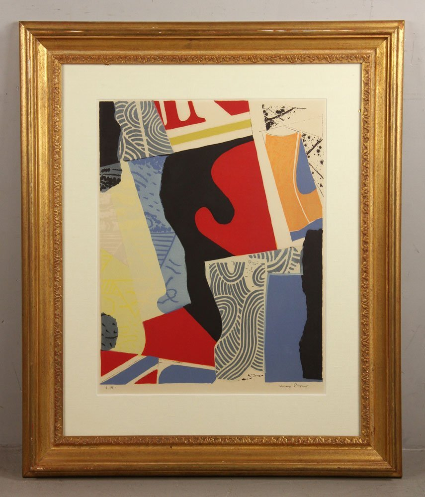 Papart, Abstract, Lithograph
