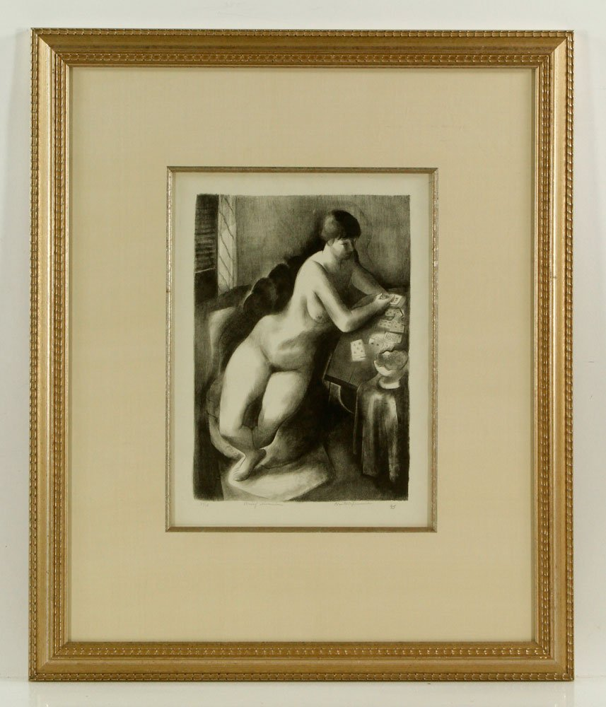 Spruance, Abstract, Lithograph