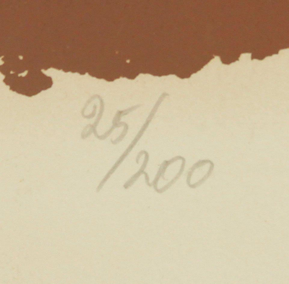 Marino, Abstract Equestrian, Serigraph - 4