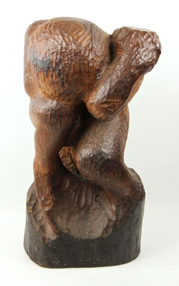 Folk Art Figural Carving