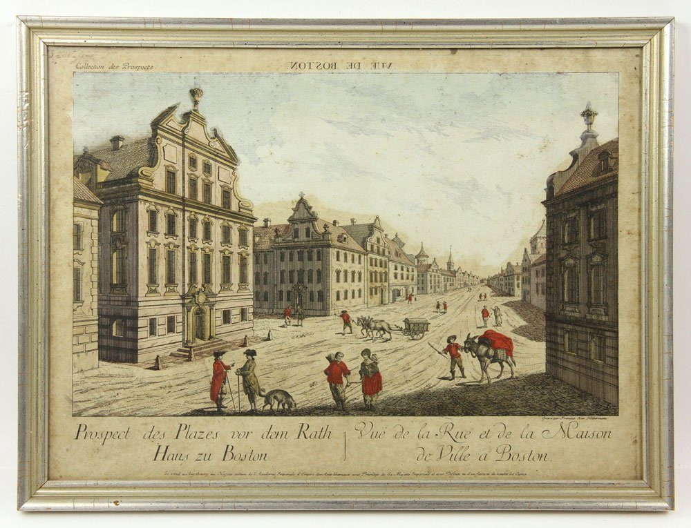 Group of Four 18th C. Geographical Prints - 6