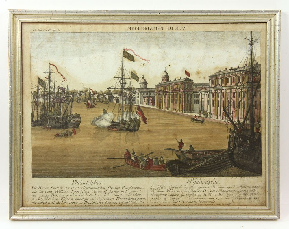 Group of Four 18th C. Geographical Prints - 8