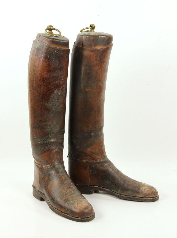 Antique Equestrian Riding Boots