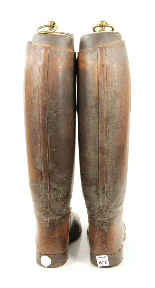 Antique Equestrian Riding Boots - 2
