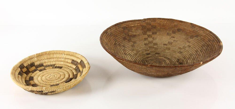 2 Woven Navajo Baskets - 2