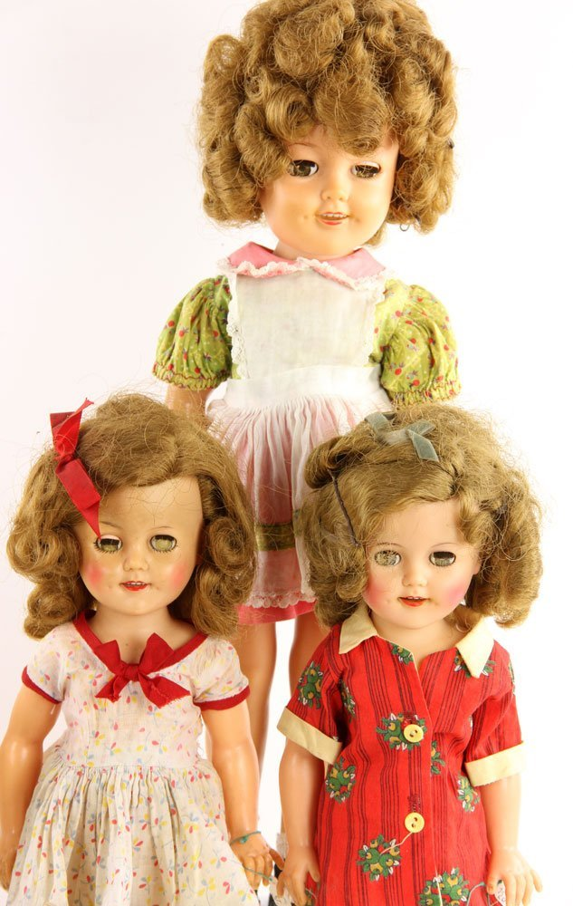 Lot of Shirley Temple Dolls and Accessories - 2