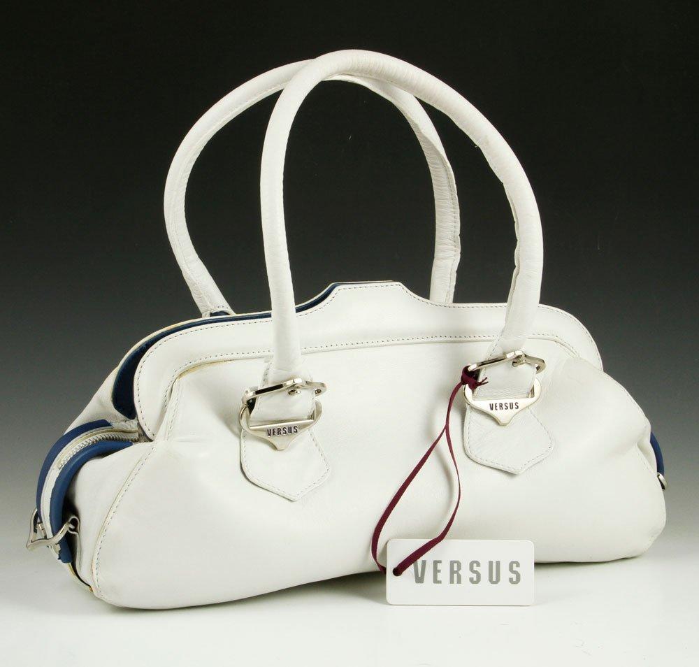 Versace Buffalo Leather Purse - 2