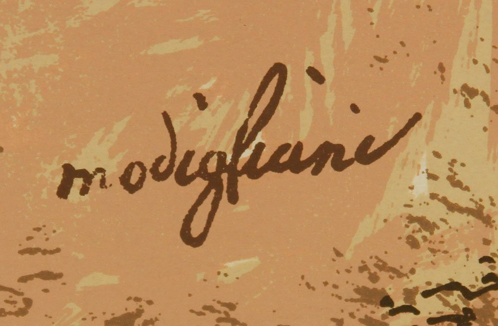 Modigliani, Abstract Portrait, Print - 3