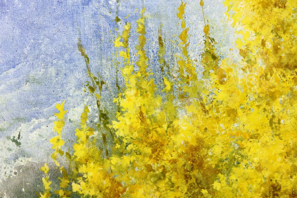 "Thompson, ""Joy of Spring,"" Oil on Canvas - 3"
