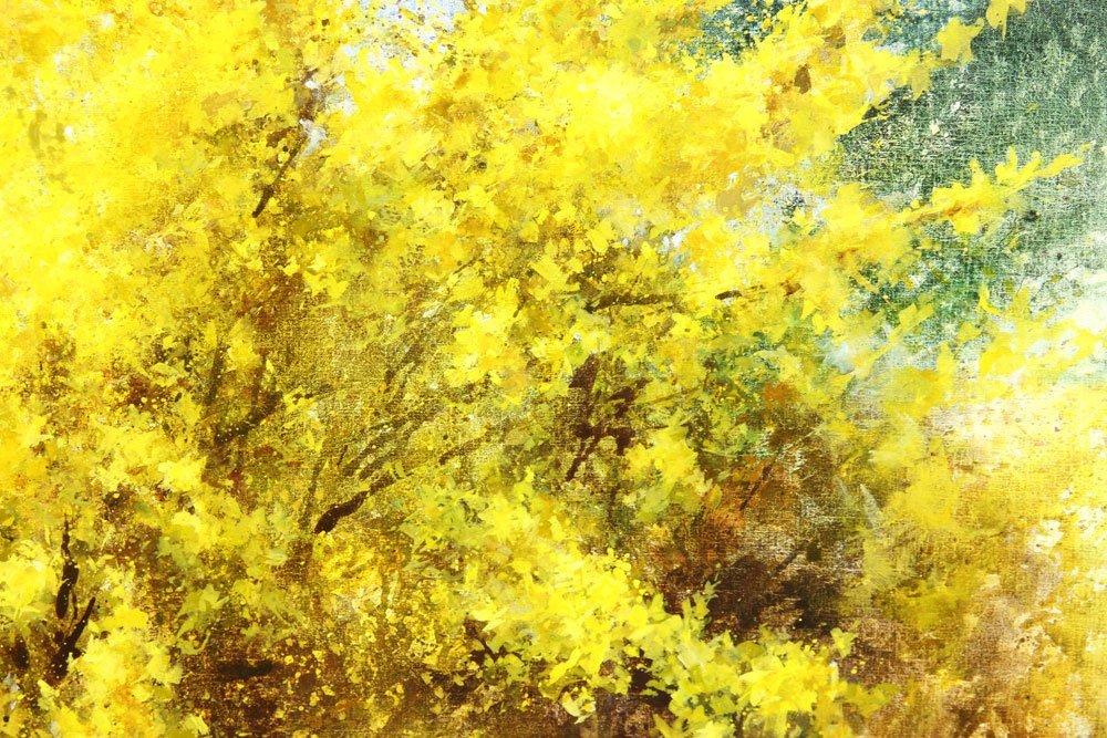"Thompson, ""Joy of Spring,"" Oil on Canvas - 4"