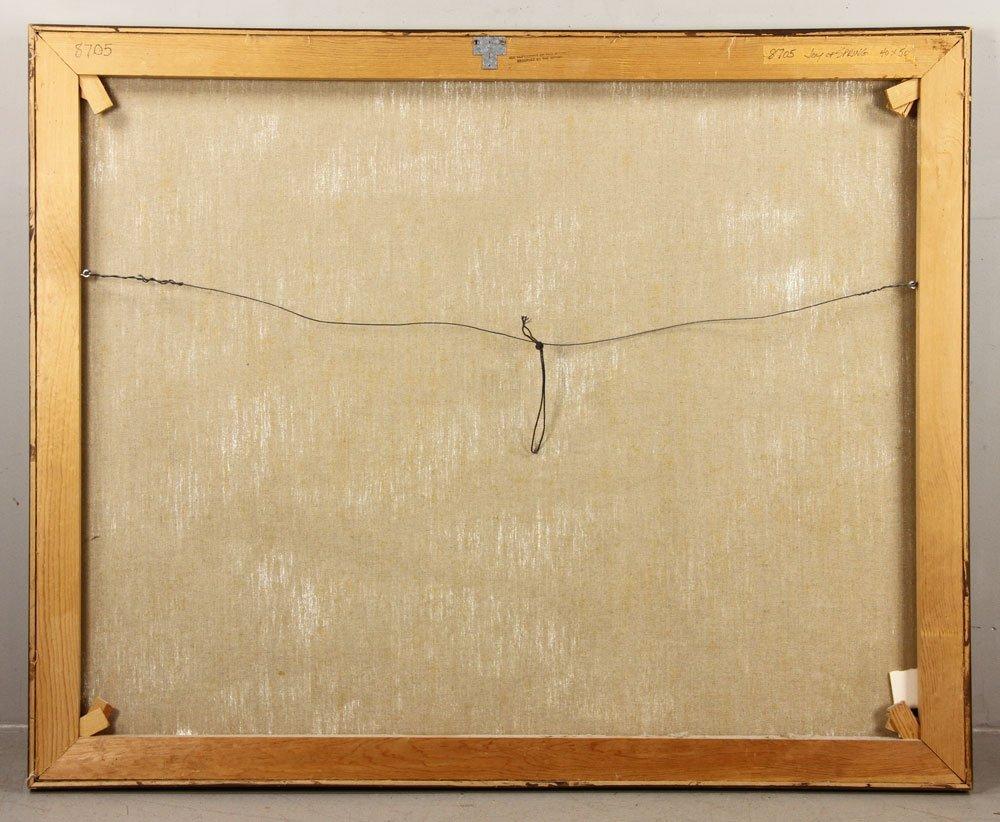 "Thompson, ""Joy of Spring,"" Oil on Canvas - 6"